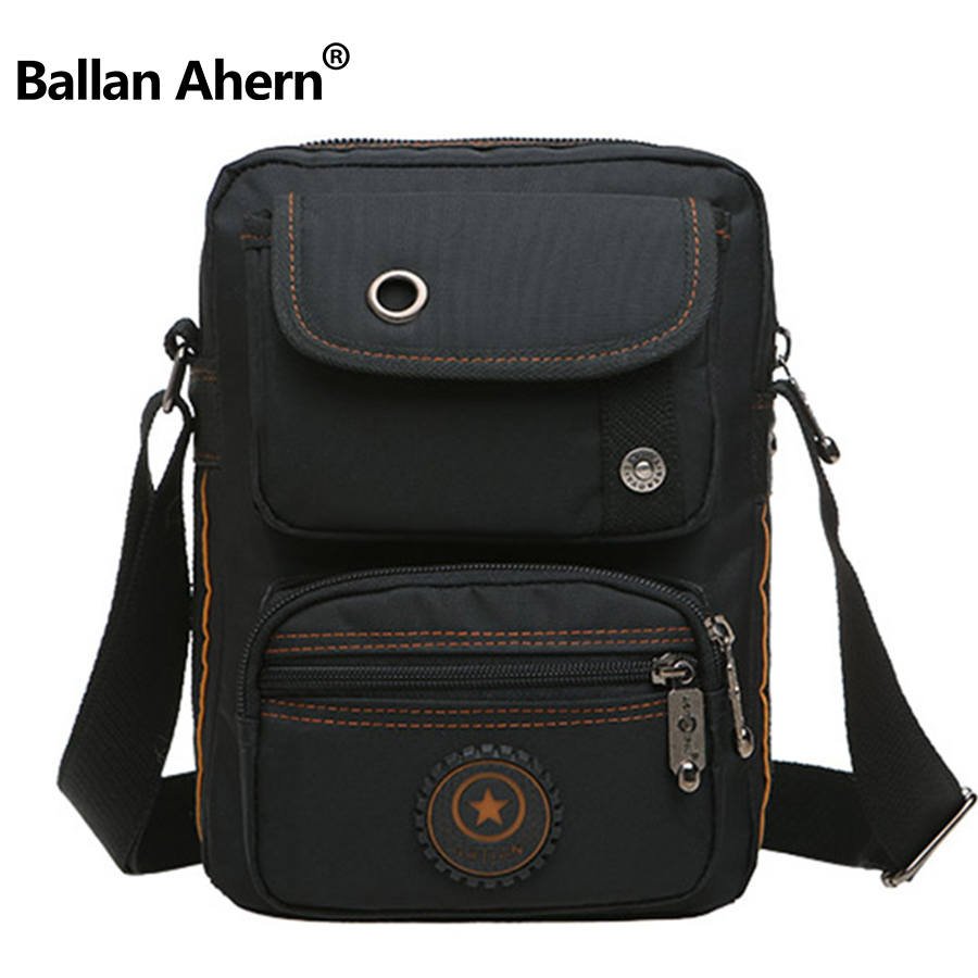 Vintage Men's Messenger Bags Canvas Shoulder Bag Fashion Men Business  High Quality Oxford Zipper Bag Crossbody For Male aosbos fashion portable insulated canvas lunch bag thermal food picnic lunch bags for women kids men cooler lunch box bag tote