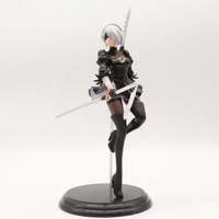 NieR:Automata 25cm anime YoRHa Type A No. 2 action figure sexy girl model collection figurine toy Christmas gifts Y7321