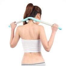Многофункциональный массаж палочки три палочки назад талии фитнесс палки qesw