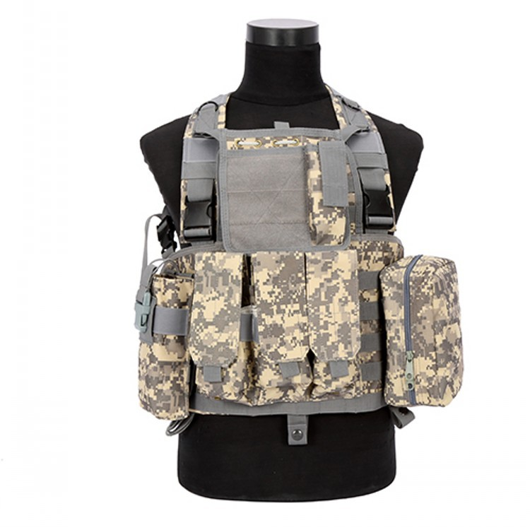 Outdoor men Chest Harness RRV Tactical Vest Military Equipment Airsoft Paintball Army CS Vests Tactical Accessories Combat Molle