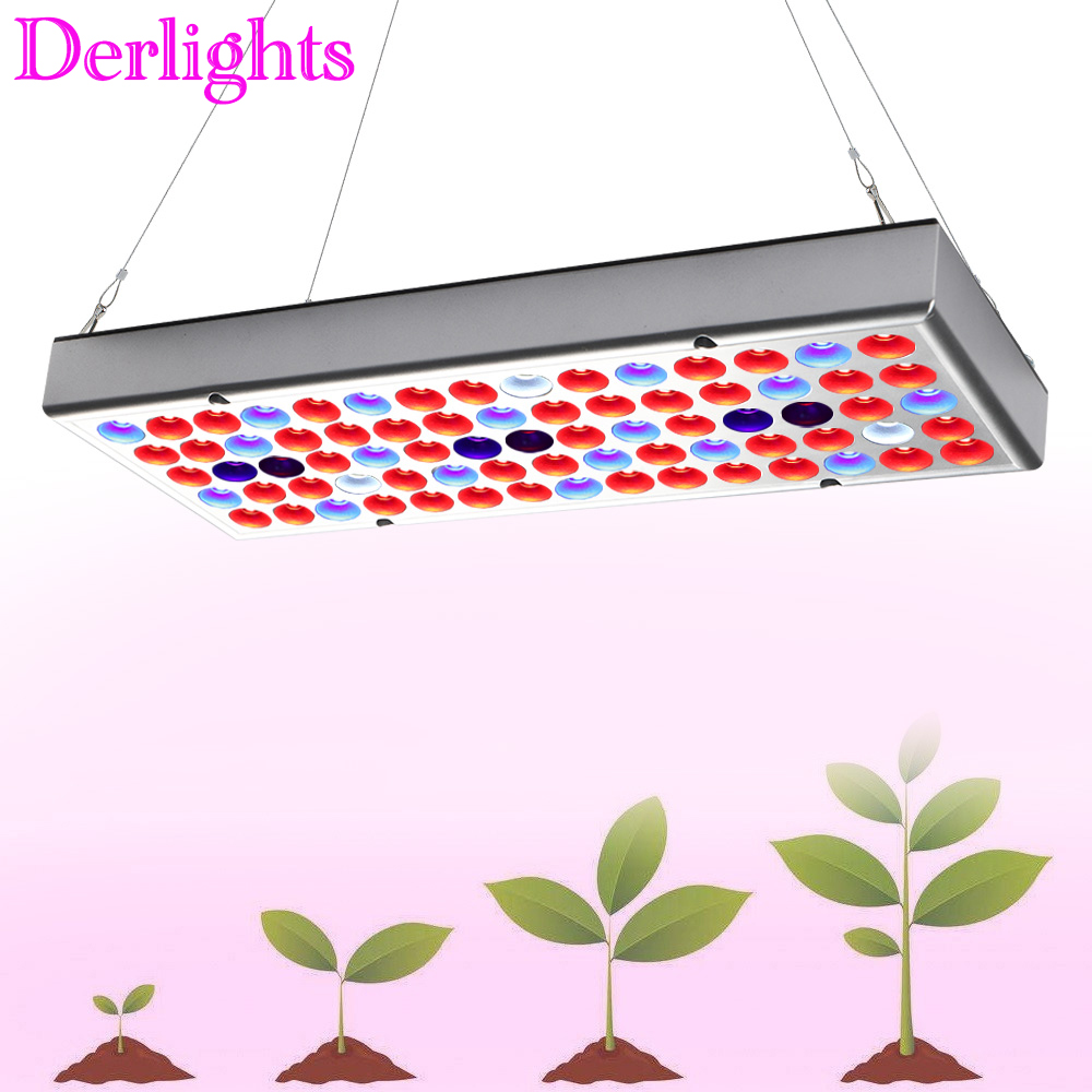 25W 75LED Full Spectrum Grow Lights AC85~265V UV IR LED Plant Lamp For Indoor Greenhouse Grow Tent Vegetables Growth&Flowering