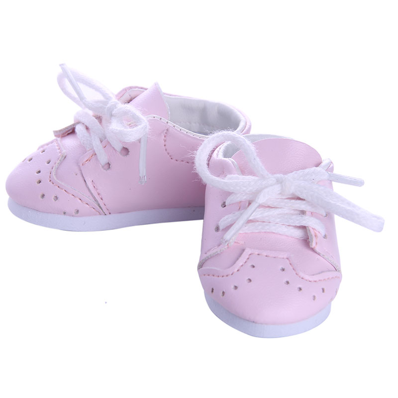 Fleta Doll shoes ,pink doll shoes for 43cm baby born baby born doll for baby gift n1094 pink wool coat doll clothes with belt for 18 american girl doll