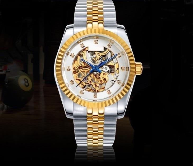 37mm luxe horloge M182SK automatische zelfoprollende beweging Limited - Herenhorloges
