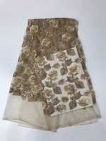 PROMOTION 5yards Lot 2017 High Quality Nigerian French Lace African Lace Fabric For Party Dress AFRFF24