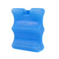 2 Pcs Lot 400ML High Quality Reusable Wave Blue Ice Boxes Plate Cold Preservation Durable Long
