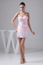 free shipping 2013 new design hot seller sweetheat sexy mini crystal beading custom size/color pink mermaid bridesmaid dresses