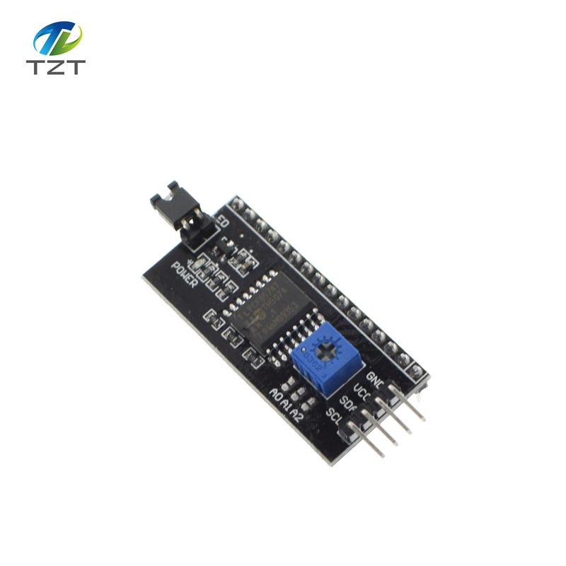 20pcs IIC/I2C / Interface LCD1602 2004 LCD Adapter Plate Free Shipping  Dropshipping-in Integrated Circuits from Electronic Components & Supplies  on