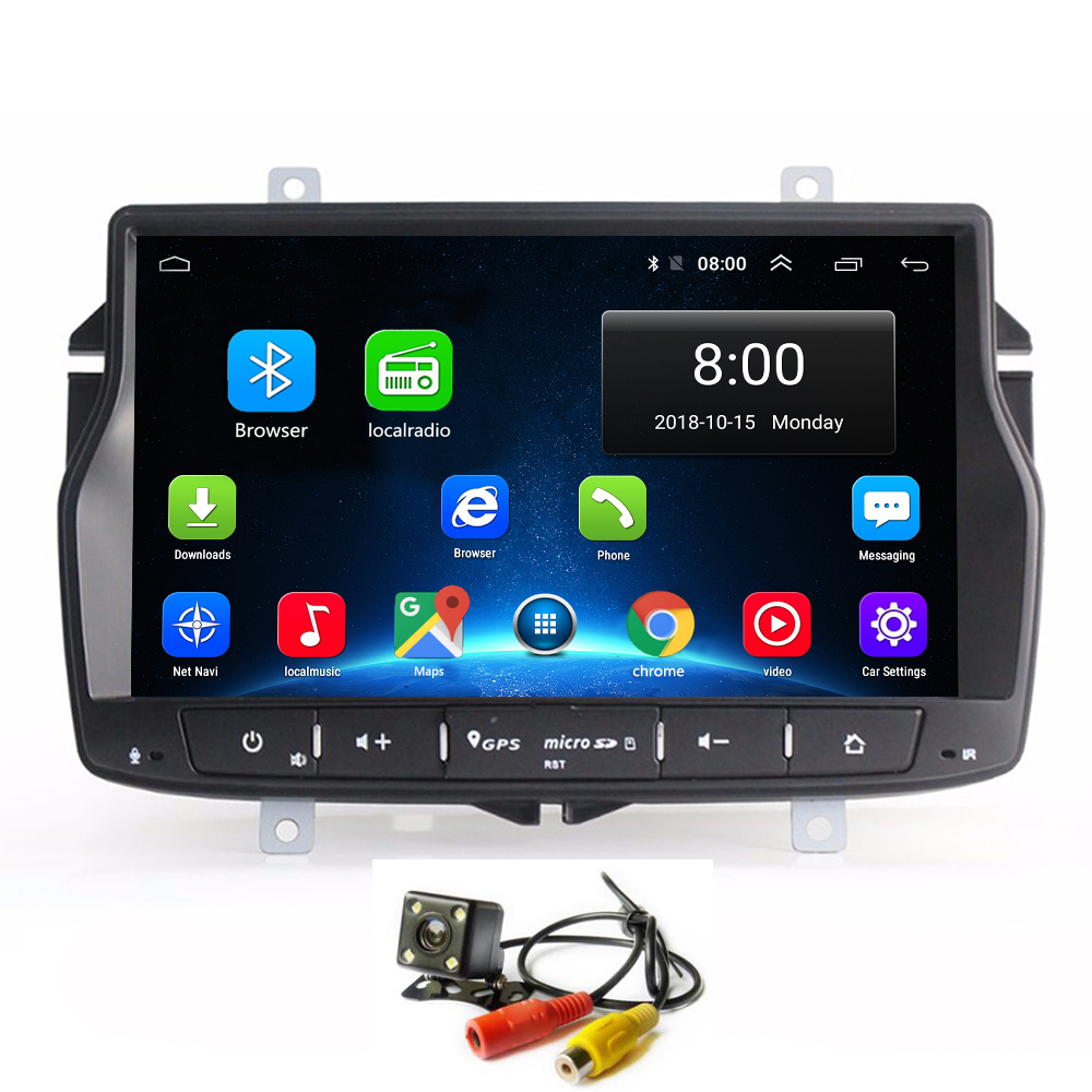 Android 8.1 Car Radio GPS Player for Lada Vesta Car Audio Multimedia Stereo Navi with BT WIFI Mirror Link Touch Screen image