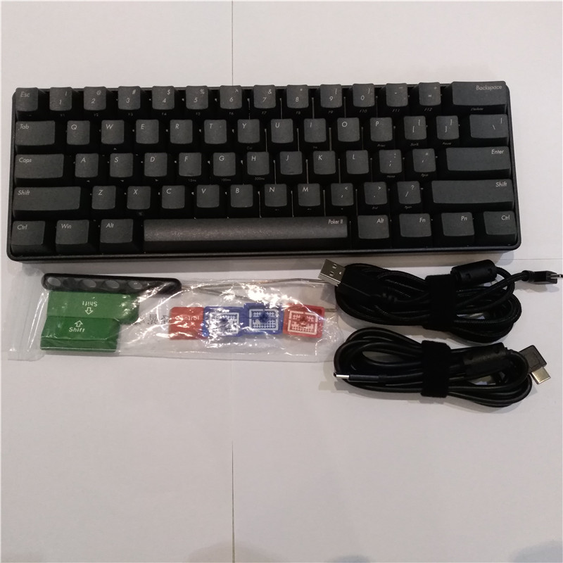 Poker2 Mechanical Keyboard Usb Type C Vortex Poker 2 Cherry Mx Brown Program Keyboard Game Keyboard Keyboards Aliexpress