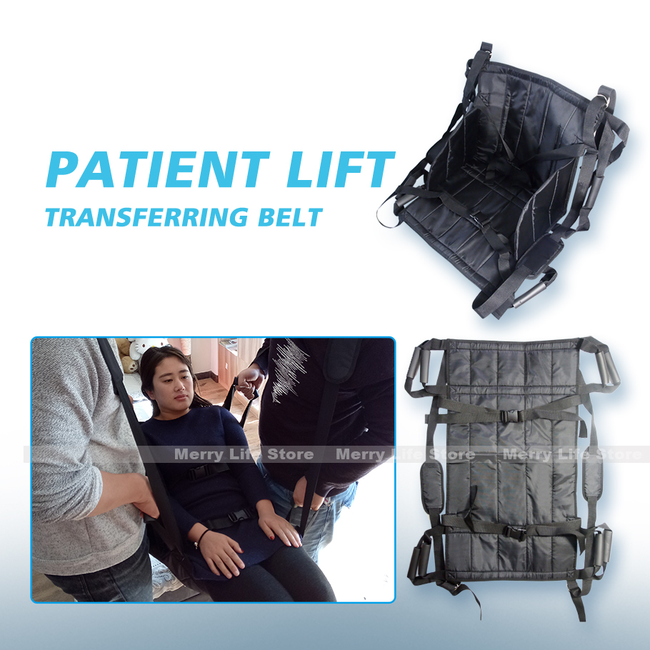 Patient Lift Transferring Belt Board Emergency Evacuation Chair Wheelchair Full Body Medical Lifting Sliding Belt for