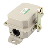 400V 10A Rotary Roller Lever Arm Actuator Limit Switch NO NC SPDT LX10 12