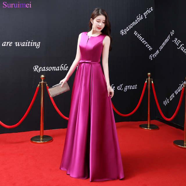 Rose Red Evening Dress