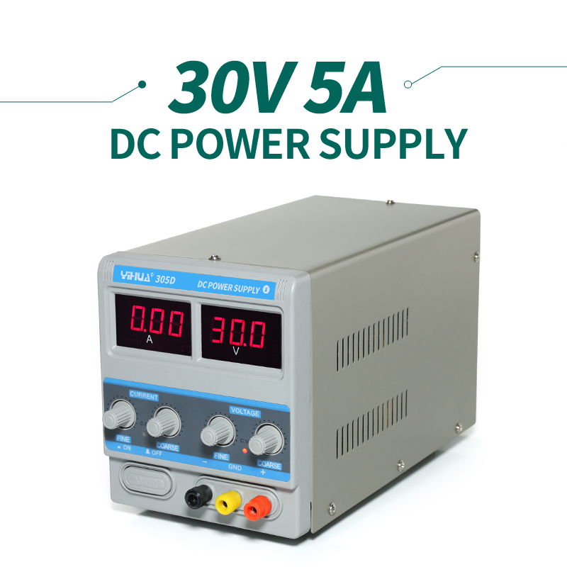A/MA Display YIHUA PS-305D Variable Adjustable DC Power Supply 0-30V 0-5A AC110-240V genuine guarantee hongkong new cher gold partner 123 suit rose essence page 8