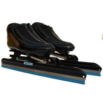 2018 ZODOR Профессиональный вывихе каблук хвост с прикрепляемыми роликами печатная плата 6 слоев углеродного волокна Встроенный Скорость ледовые лезвие 430 мм Ножи 62 64 - 6