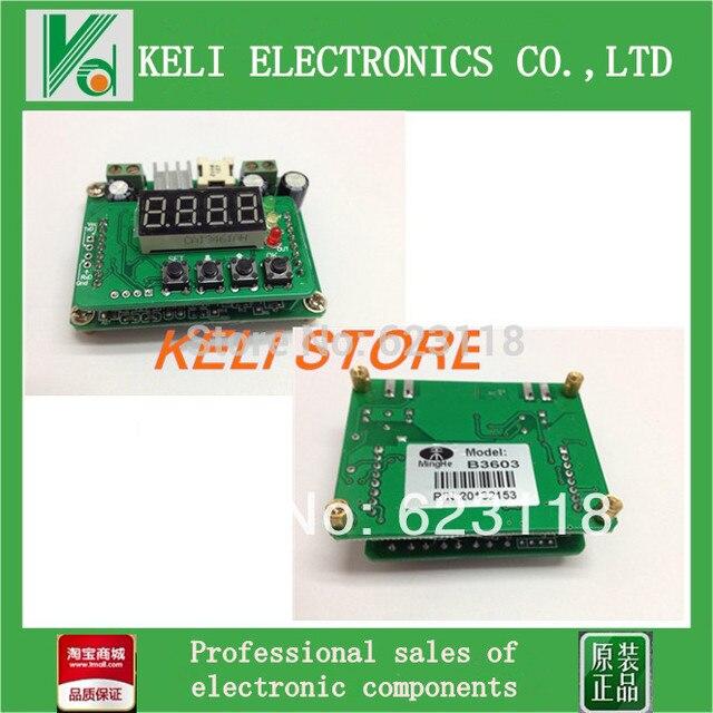 Бесплатная Доставка 1 шт. B3603 CNC Точности DC-DC Постоянное Напряжение ConstantCurrent Бак СВЕТОДИОДНЫЙ Драйвер Модуль Солнечная Зарядка Питания FZ0320