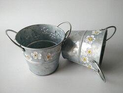10pcs lot round galvanized zinc metal planter flower pots bucket with 2 handle fretwork urns.jpg 250x250