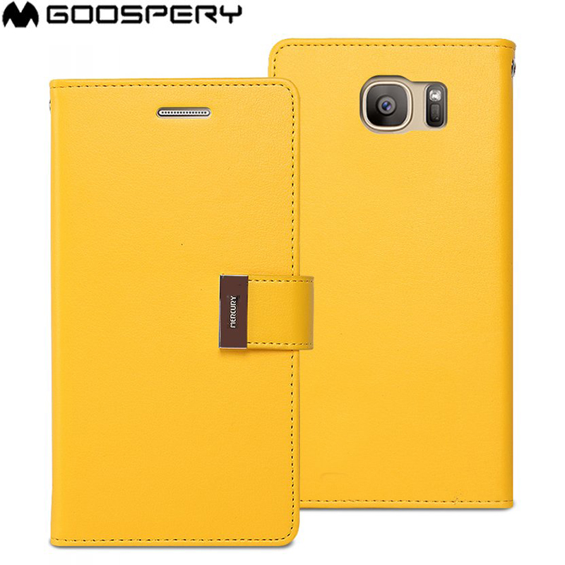 galaxy s7 flip case yellow