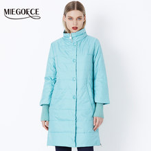MIEGOFCE 2018 New Spring Parka Jacket Women Winter Coat Womens Medium-Long Cotton Padded Warm Jacket Coat High Quality Hot Sale(China)