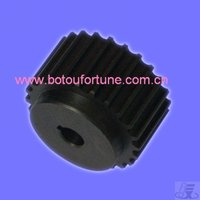 spur gear C45 steel 10 teeth 2M with 10mm width 6.35mm central hole