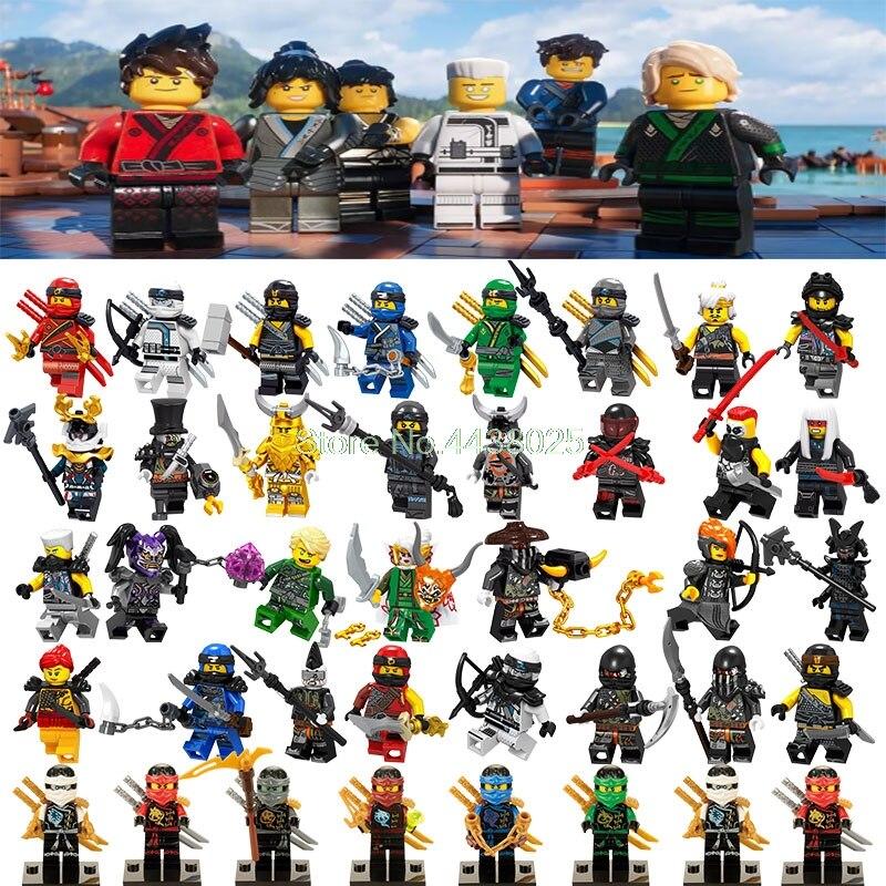 Toys & Hobbies Ja021 Legoing Ninjao Movie Figure Zane Building Blocks Bricks Educational Legoings Figures Ninjago Toys For Children Compatible Blocks