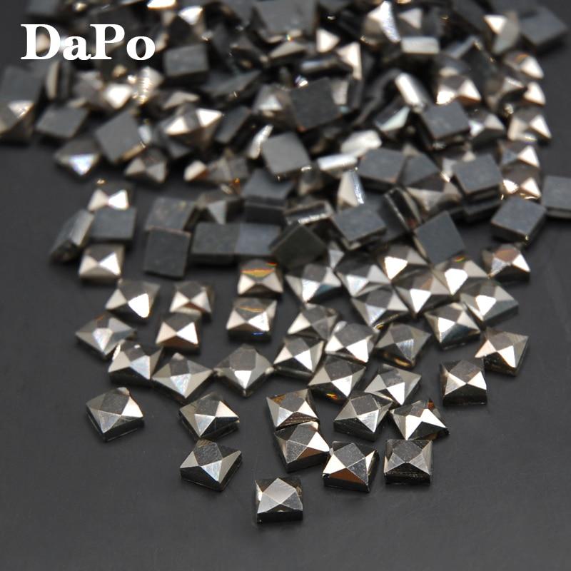 Calx Color Square DMC Hotfix Rhinestones 6mm 500pcs Brides Stones Glass  Beads Transfer Hot Fix Stones Iron On Rhinestones-in Rhinestones from Home    Garden ... da09bc2a7a88
