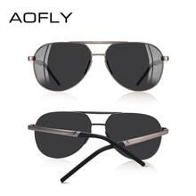 AOFLY BRAND DESIGN Men Classic Pilot Sunglasses Aviation Frame Polarized Sun glasses For Men Driving UV400 Male EYEWEAR AF8188