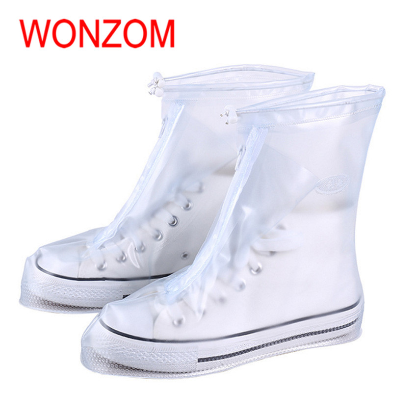 WONZOM New Arrival Fashion Solid Reusable Waterproof Shoe Co