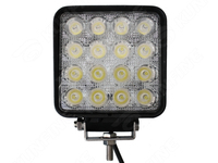 Cheap Shipping 18months Warranty 10 30V 48W Auto High Power LED Work Light For Truck Trailer