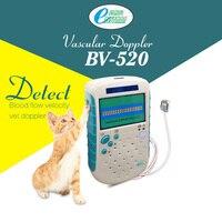 Veteriner Vasküler Doppler 9 mhz Düz Probe Hayvan Kan Akım Hızı Tespit Vet Doppler Ultrason BV520 Pet Sağlık Ürünleri