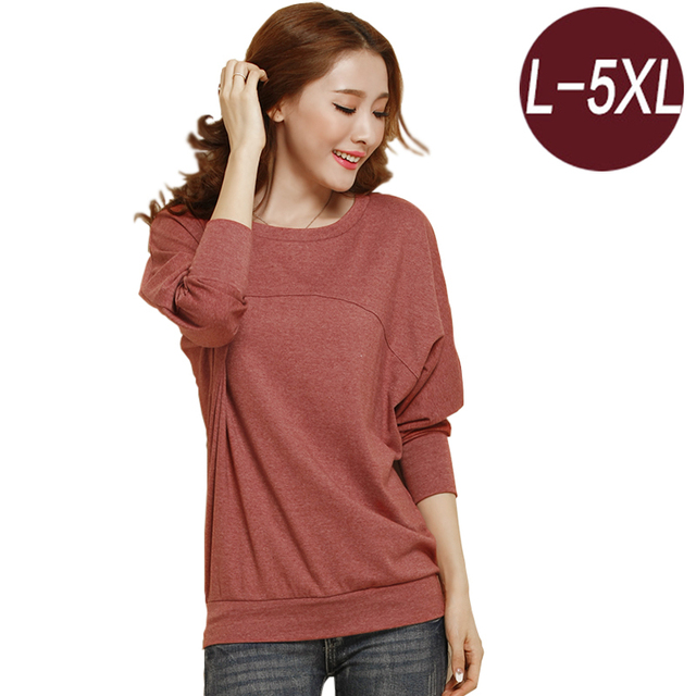 Mulher camisola ocasional, plus size 5xl mulheres roupas hoodies moletons pullovers encabeça mulheres manga longa queda