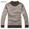 Новая Зимняя мужская О-Образным Вырезом Свитер Перемычки пуловер свитер бесплатная доставка 2017 AFS JEEP новый Высокое качество Бренды 41