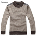 Los nuevos hombres de invierno suéter del o-cuello pullover jumpers suéter envío libre 2017 afs jeep nuevas marcas de alta calidad 41