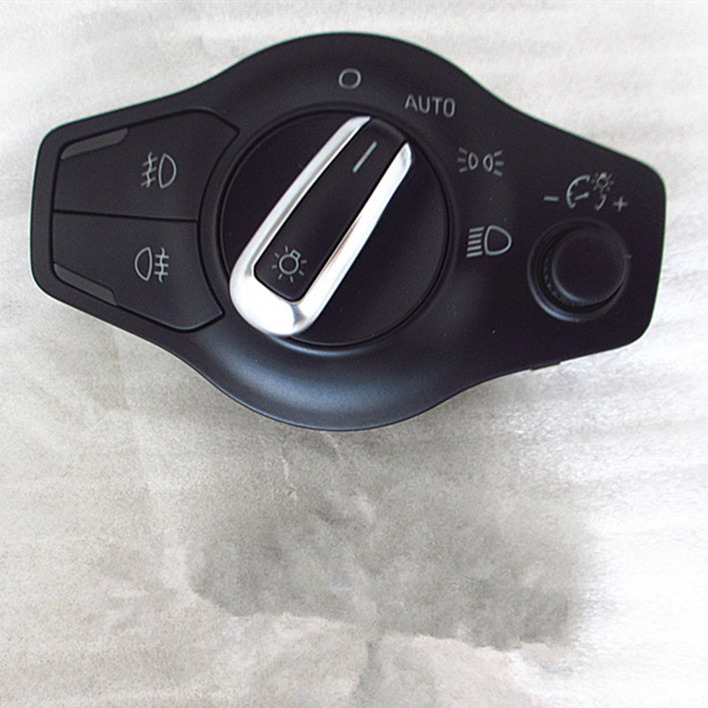 AUTO Headlight switch side lights and driving lights multi switch for audi A4 B8 A5 Q5 8K0 941 531 AS