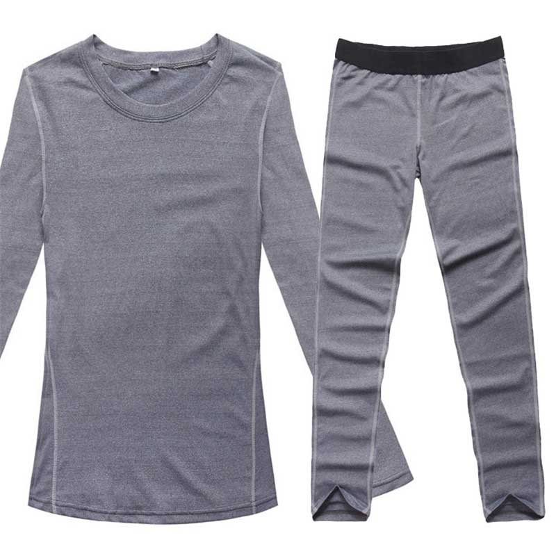 Thermal Underwear Women Winter Quick Dry Anti-microbial Stretch Thermo Sporting Underwear Sets Fitness Gymming Long Johns 1920