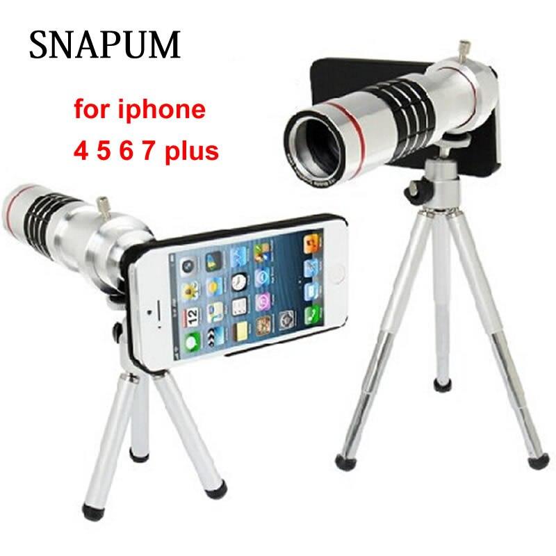 imágenes para Teléfono móvil del teléfono Móvil 18x Cámara Del Telescopio Del Zumbido óptico teleobjetivo Lente Para apple iphone 5 5S SE 6 6 s 7 plus