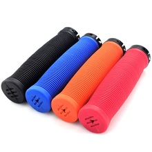 Bicycle Grips Anti-Skid Rubber MTB BMX Road Cycling Handlebar  Grips Mountain Bike Lock On Bicycle Handlebars Bar End Bike Parts special offer top carbon handlebar road cycling mountain mtb bike bicycle lock on handlebar cover handle bar end