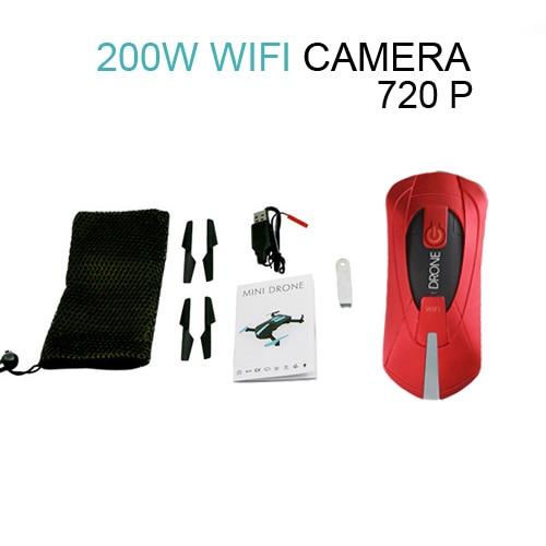 Wifi 200W Red camera