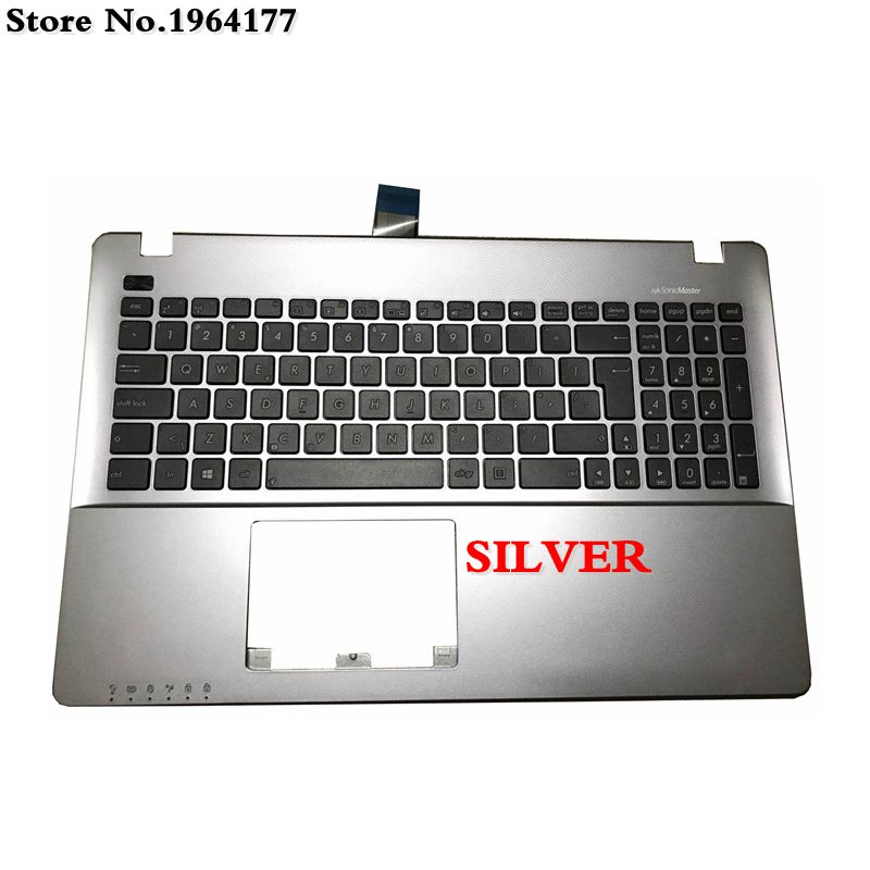 New laptop Palmrest Upper <font><b>cover</b></font> for <font><b>ASUS</b></font> W50J Y581CL X552W X550C K550 A550VB Y581C <font><b>X550</b></font> K550JK FX50J A550C <font><b>keyboard</b></font> bezel image