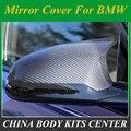 Замена углеродного волокна крышка зеркала боковой двери для BMW F80 M3 F82 F83 M4 2014 2015 2016 Автомобильные Боковые зеркальные крышки