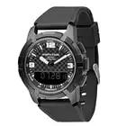 Мужские спортивные кварцевые часы NORTH EDGE, альтиметр, барометр, компас, термометр, мужские часы с двойным дисплеем, цифровые наручные часы для... - 2