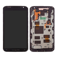 New LCD Touch Digitizer Screen +Frame For Motorola moto X+1 X 2nd Gen 2014 XT1096/XT1092 free shipping