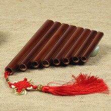 Бамбуковые 8 труб флейта Пана пандуки музыкальный инструмент отцовские средства xiao