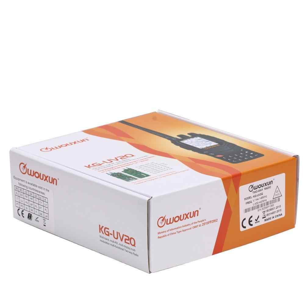 Wouxun KG-UV2Q 10 W Powerfrul 7 bandes/bande d'air répéteur de bande croisée Circuit classique talkie-walkie mise à niveau KG-UV9D Plus Radio jambon