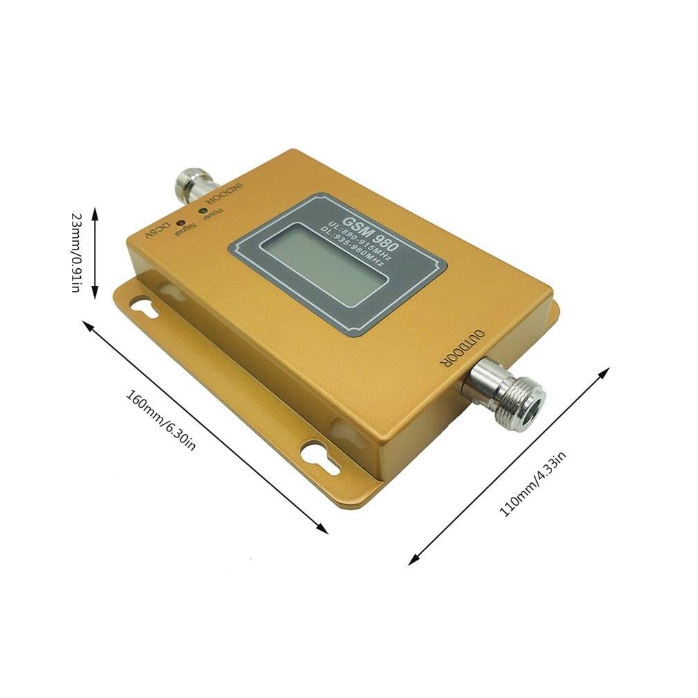 Petit amplificateur d'amélioration de signal de téléphone portable CDMA 850 MHz d'affichage - 6