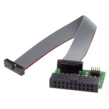 J-LINK/v9 v8 ARM-JTAG-20-20 płyta adaptera/2.54mm PIN 0.1 1.27mm jlink(China)