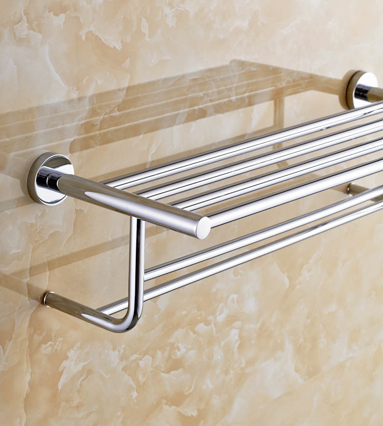 brass towel rack bathroom fittings towel shelf towel rail bathroom accessories towel holder 8921 1 in towel racks from home improvement on aliexpresscom - Bathroom Accessories Towel Rail