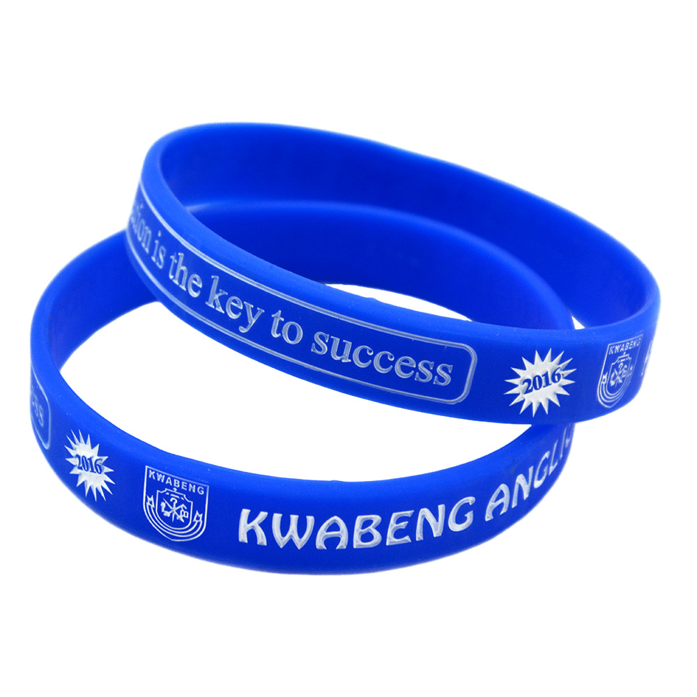 OneBandaHouse Custom Silicone Wrist Bands for Advertising Gift
