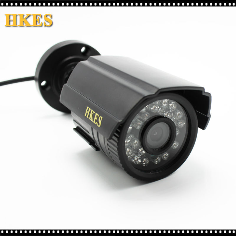 HKES HKES HD 1920 x 1080P 2.0MP Waterproof Bullet AHD Camera 24LED Outdoor CCTV Camera Night Vision Security Cam with IMX323 hkes free shipping waterproof ahd 1080p bullet camera hd 2mp cctv outdoor security 24 ir night vision bnc cable