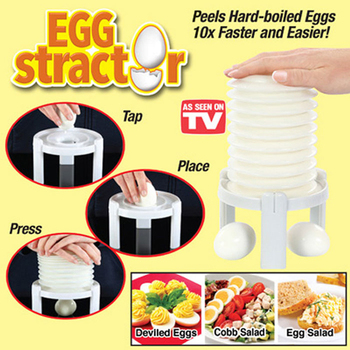 Hard-Boiled Egg Shell Tools Egg Stractor Remove Peeler 1