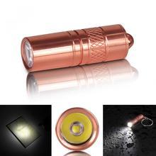 방수 휴대용 황동 R5 5W 200 루멘 미니 LED 빛 토치 손전등 마이크로 USB 충전 3.7V 10180 배터리